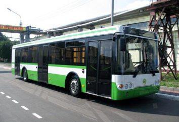 LIAZ 5292: miejski autobus niskopodłogowy z wieloma modyfikacjami