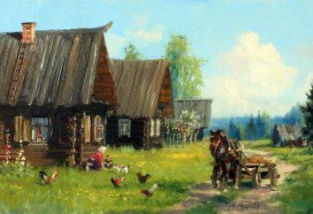 """Pisateli- """"Dorfbewohner"""": Fodor Alexandrowitsch Abramov, Vasiliy Ivanovich Belov, Ivan Ivanovich Akulov. Dorf Prosa"""