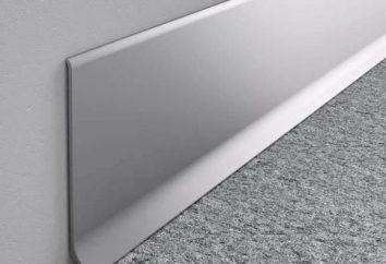 Rodapés de alumínio: vantagens e características