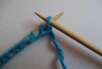 Skrzyżowane Niewłaściwy pętla: jak robić na drutach piękne