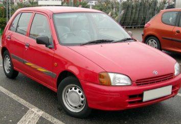 Toyota Starlet – économique « léger » et une plate-forme pour le réglage sport