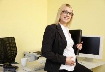 Schwangerschaft und Arbeit. Grundregeln, Nuancen und Ausrichtung Bedingungen