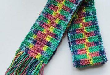 Kinder Häkeln Schal: scheme. Wie man Kinder-Schal gehäkelt verlinken