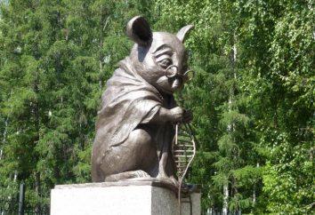 Monumento di laboratorio mouse – una delle decorazioni più originali Novosibirsk