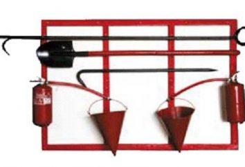 escudo de fogo para o armazenamento de meios improvisados