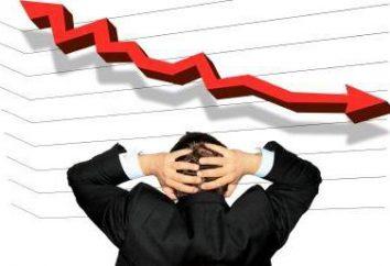 Wirtschaft in der Rezession. Was in der Wirtschaft nach der Rezession des Prozesses geschieht?