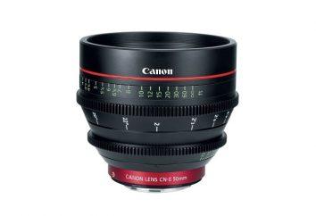 Objectif pour Canon: une vue d'ensemble