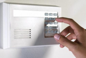alarme anti-intrusion dans le pays: la sélection, l'instruction, l'installation