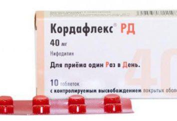 """Medicina """"Kordafleks"""": indicaciones de uso, manual de instrucciones, análogos, opiniones. análogo barato """"Kordafleksa"""""""