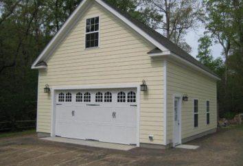 A garagem de dois andares: concepção, construção, portões