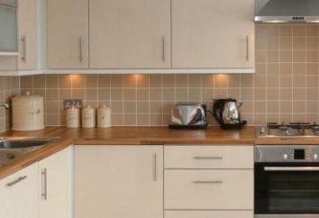 Bois plan de travail: les types et caractéristiques des matériaux de performance que lors du choix d'une cuisine