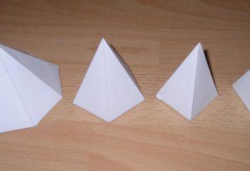 Pirámide – exploración. Analiza la pirámide para la unión. papel de escaneo