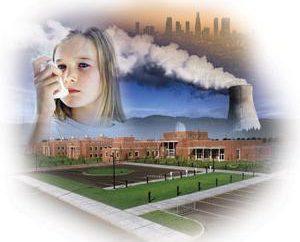 Die Luftverschmutzung Zwecke. Ökologie TPP