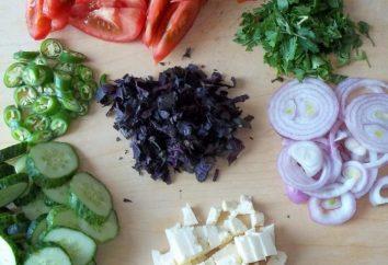 insalata georgiano: diverse ricette