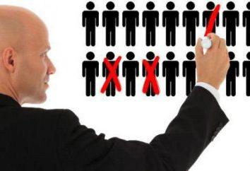 El coeficiente de la constancia Marcos: la fórmula. Número medio de empleados