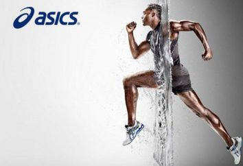Asics tênis: tamanho, modelo, foto, revisões