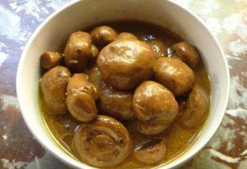 champignons de cuisine SAUMURÉ Fast