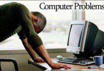 Dlaczego jest wyłączona samego komputera? Naprawa, komputer
