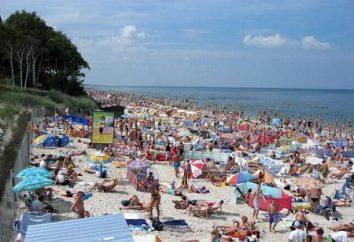 Reste de la mer en Pologne. Plages Pologne. Pologne, Mer Baltique – vacances