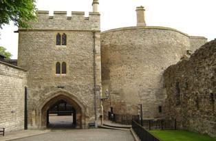 Bloody Tower in London. London Sehenswürdigkeiten: Blutige Turm