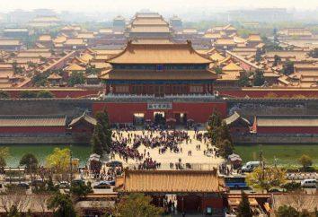 Die Bevölkerung von Peking (China) und die nationalen Zusammensetzung