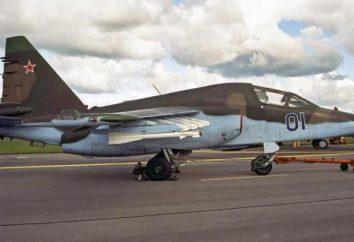 """Sturmovik """"Rook"""" Su-25: descrizione, le specifiche, le foto"""