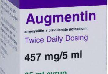 """Indicazioni per l'uso del farmaco Gravidanza """"Augmentin"""" in diverse fasi"""