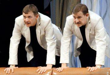 Hermanos Ponomarenko: operaciones biografía, TV y pop, momentos interesantes de artistas de privacidad