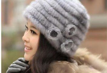 Tricotée chapeaux de vison avec leurs mains. femmes chapeau Mink: quoi porter?