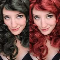 Como mudar a cor do cabelo no Photoshop da escuridão para a luz