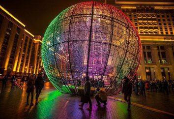 L'originalité et l'ampleur frappant du festival « lumière de Noël »