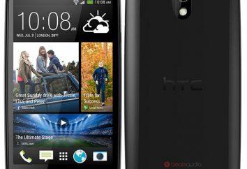 HTC Desire 500 smartphones: comentários, preço