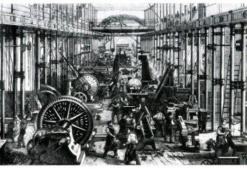 Caractéristiques de la société industrielle (brièvement)