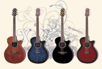 Crafter guitares: description, caractéristiques, photos