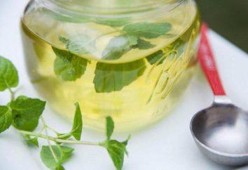 sirop de menthe poivrée: application majeure et recette à la maison