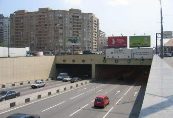 Lefortovskiy tunelu na trzeci pierścień transportowy
