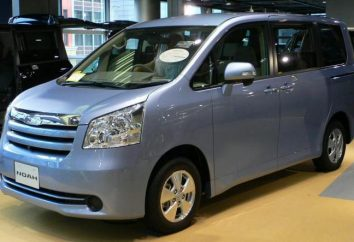 Toyota Noah: Specyfikacje i opisy japońskiego minivana