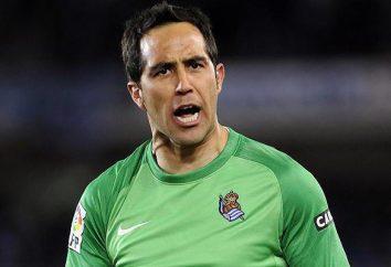 "Claudio Bravo – portero de Chile y ""Manchester City"""
