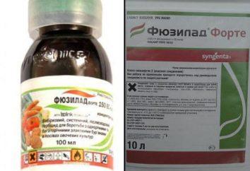 """Herbicide """"Fyuzilad Forte"""": mode d'emploi, les caractéristiques"""