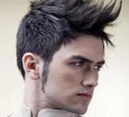 """Tipos de cabelo: estilo """"mohawk"""""""