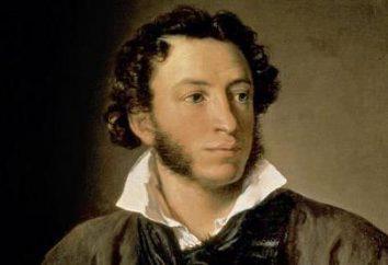 Le thème du poète et de la poésie dans les paroles de Pushkin (brièvement)
