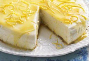 Lemon Cheesecake: einfache und köstliche Rezepte mit Fotos
