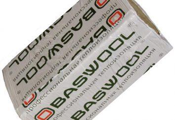 « Basvul » (isolation): description, spécifications et caractéristiques de l'empilement