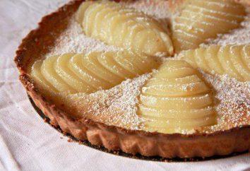 tarte aux poires à multivarka. recettes