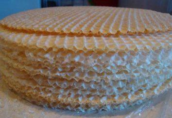 Amuse-gueule de gâteaux de gaufrette – simple et délicieux