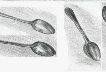 Jak narysować łyżkę? Instrukcje krok po kroku