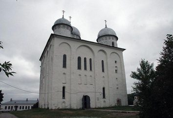St-Georgs-Kathedrale in Yuriev-Polsky: Foto, Architektur