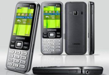 teléfono móvil Samsung GT-C3322: características y comentarios