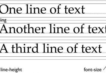 Ustawienia w CSS: interlinia