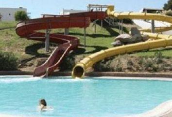 Nous nous reposons activement! Grèce hôtels avec parc aquatique